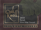 Syrah <br>Columbia Valley<br>2010